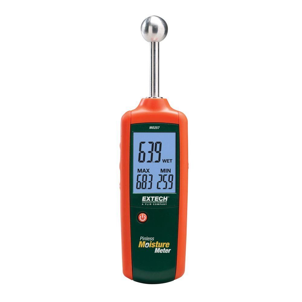 General tools pin type digital moisture meter with lcd for Wood floor moisture meter