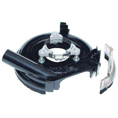 7 in. Universal Dust Shroud Pro for Angle Grinders