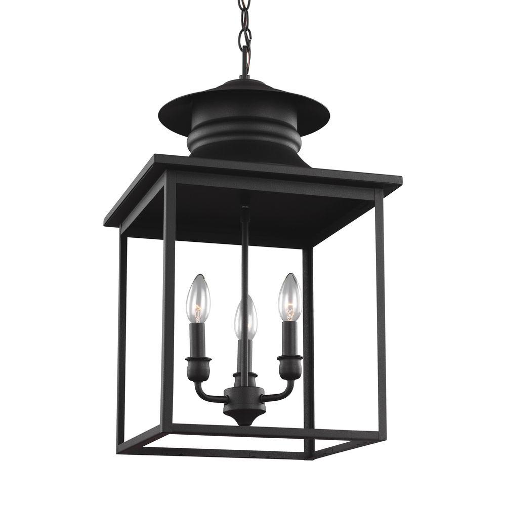 sea gull lighting huntsville 3 light blacksmith hall foyer pendant