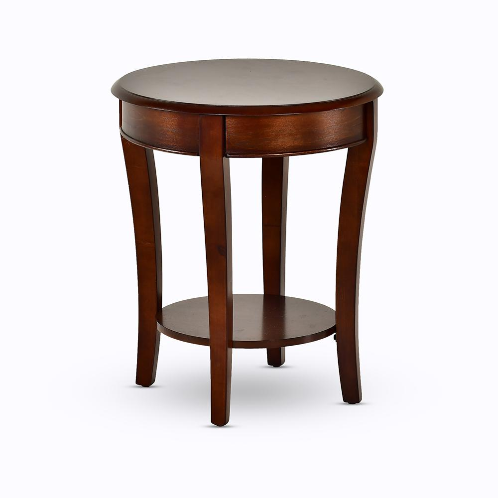 Troy Medium Cherry Traditional End Table