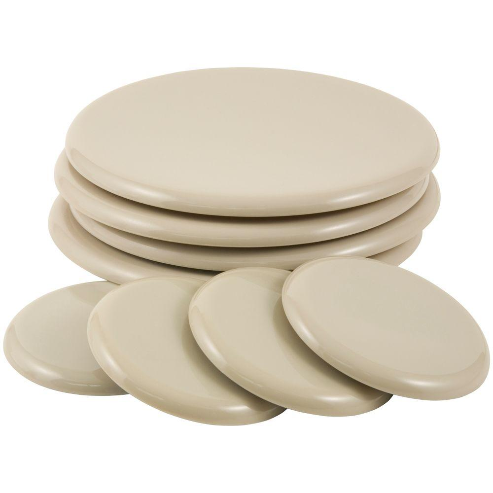7 In. Brown Round Reusable Movers Bonus Pack With (4) 7 In.