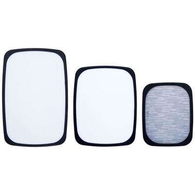3-Piece Non-Slip Plastic Cutting Boards