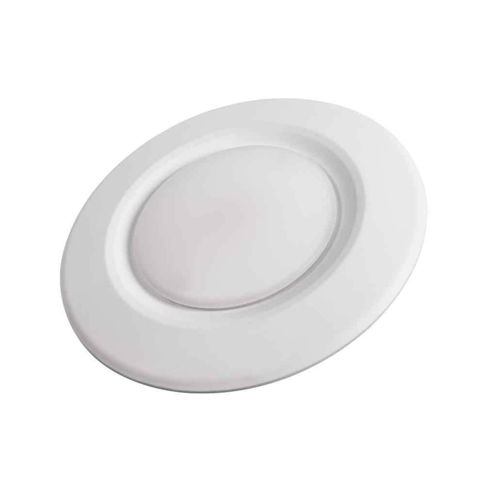 Cree 65W Equivalent 4 in. Matte Integrated LED Disk Light Recessed Trim