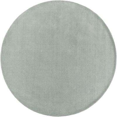 Falmouth Mint 8 ft. x 8 ft. Indoor Round Area Rug