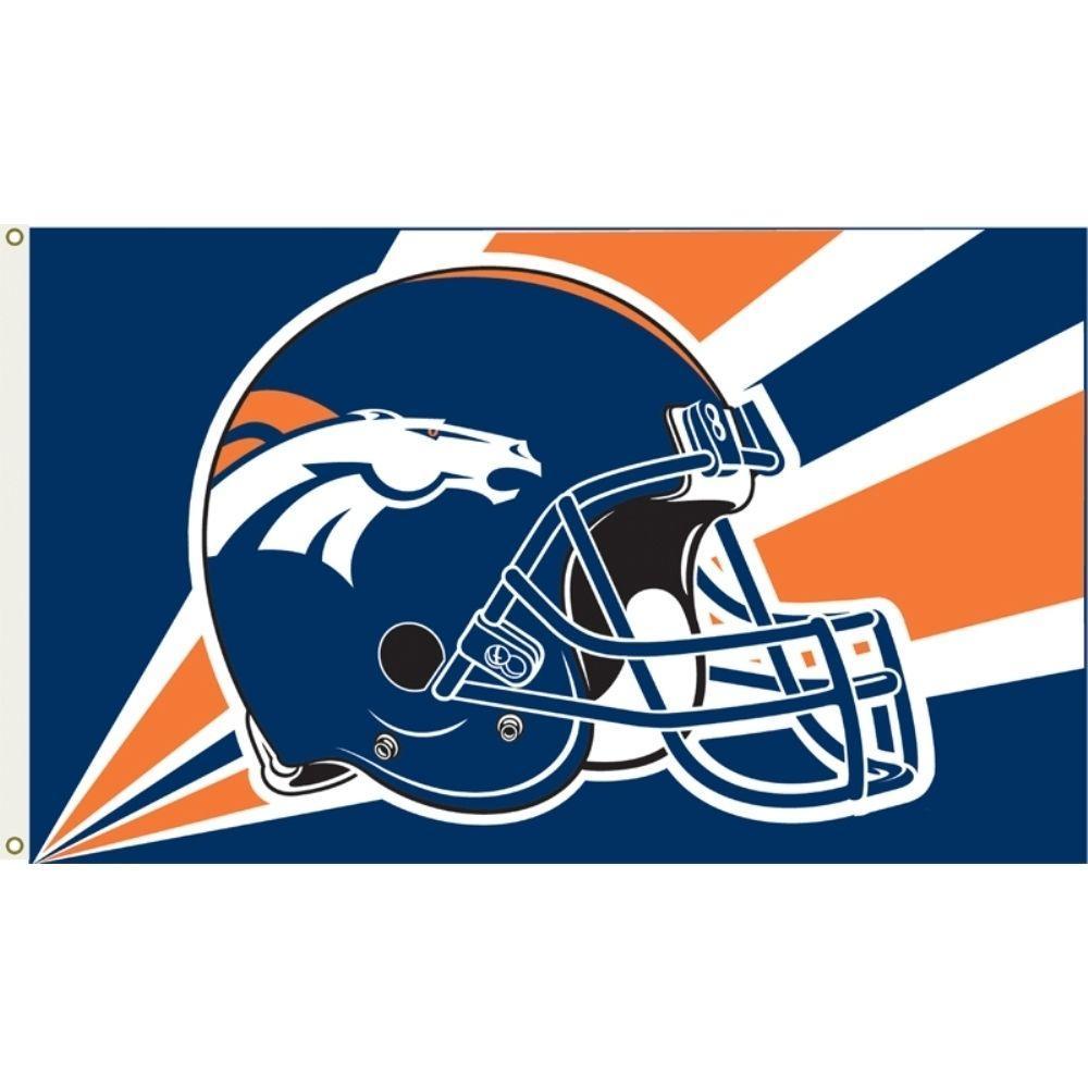 Denver Broncos: Annin Flagmakers 3 Ft. X 5 Ft. Polyester Denver Broncos