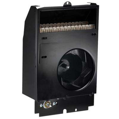 Com-Pak 750-Watt 240-Volt Fan-Forced Wall Heater Assembly with Thermostat