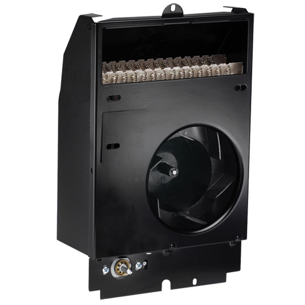 Com-Pak 1500-Watt 120-Volt Fan-Forced Wall Heater Assembly with Thermostat