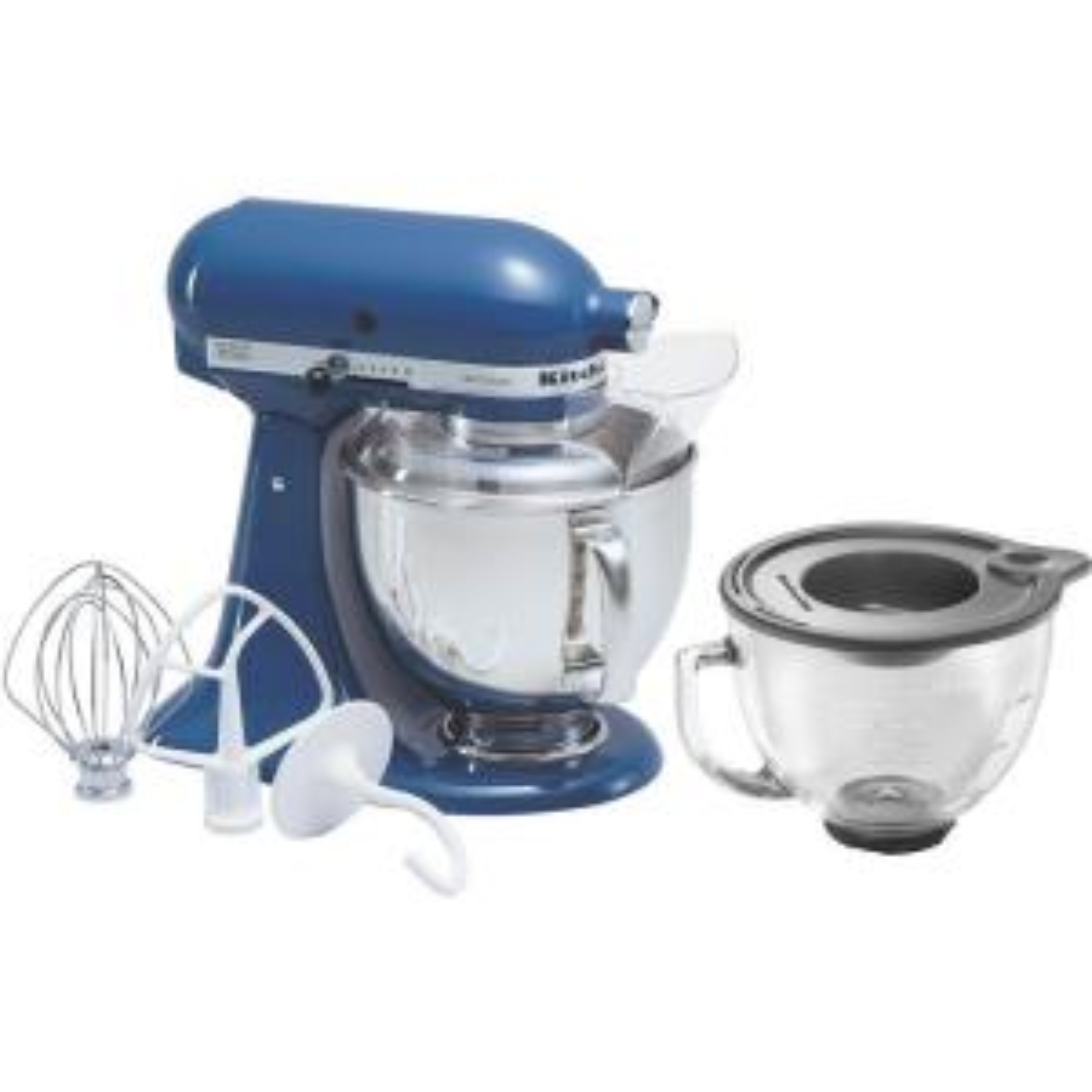 Internet #203427449. KitchenAid Artisan 5 Qt. Willow Blue Stand Mixer
