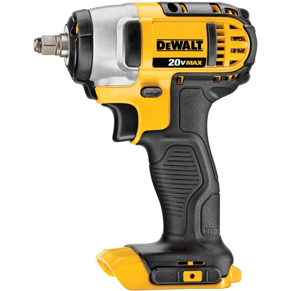 Dewalt 20 Volt Max Lithium Ion Cordless 3 8 In Impact Wrench