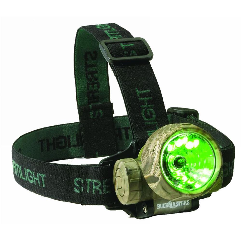 Buckmaster Camo Trident LED/Xenon Headlamp