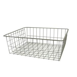 8 in. H Nickel Ventilated Wire Drawer
