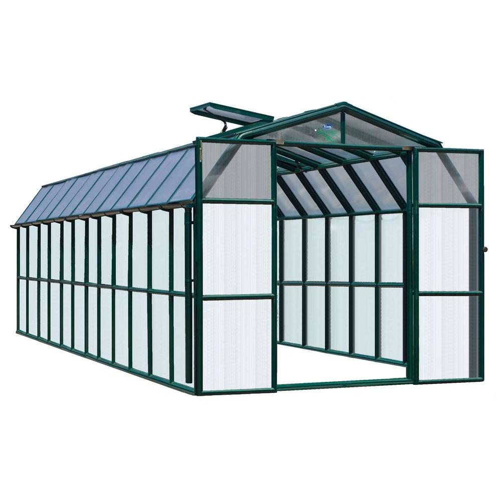 Rion Prestige Clear 8 ft. 6 in. x 24 ft. 10 in. Greenhouse-DISCONTINUED