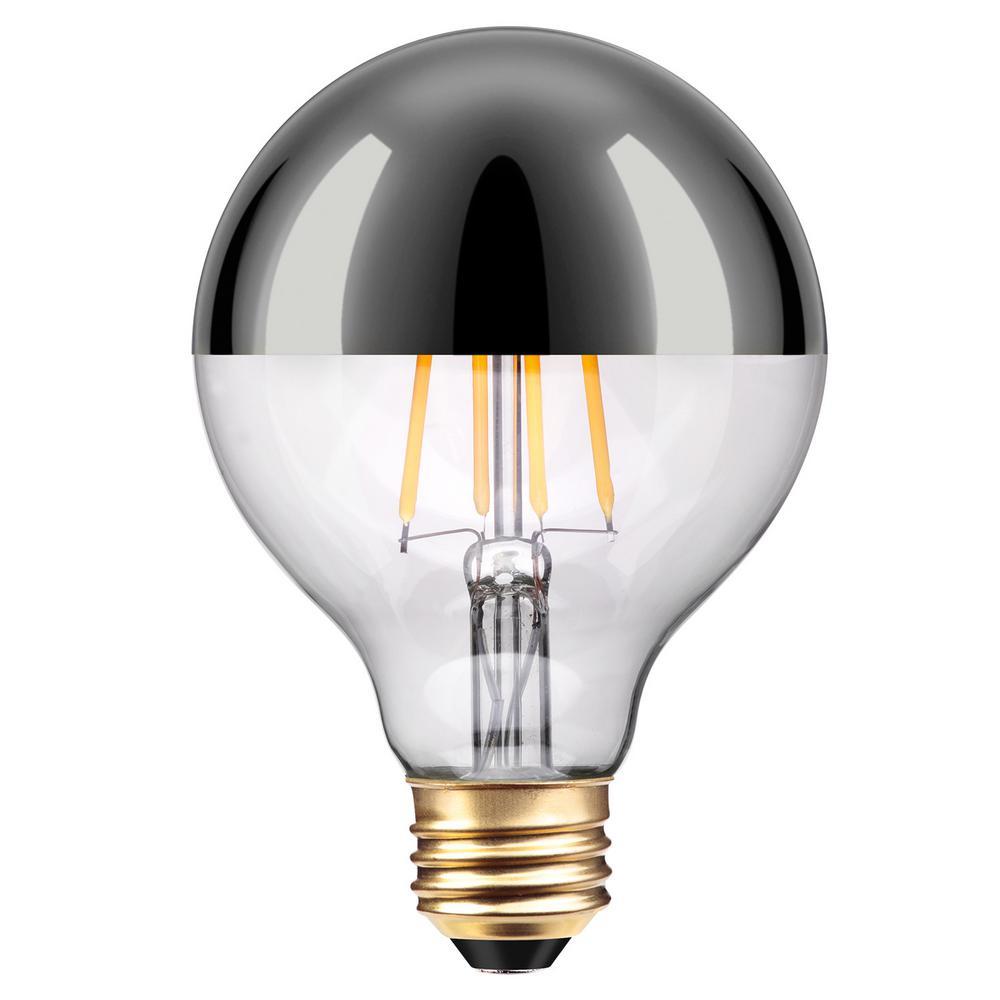 40-Watt Equivalent G25 Chromada LED Light Bulb Soft White