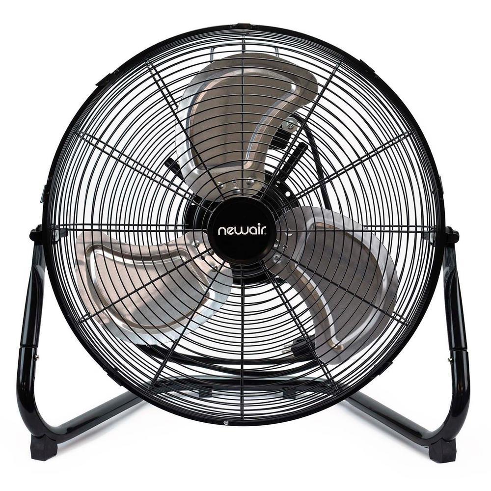 Floor Fans Home Depot : Newair in high velocity portable floor fan windpro f