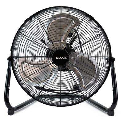 18 in. High Velocity Portable Floor Fan