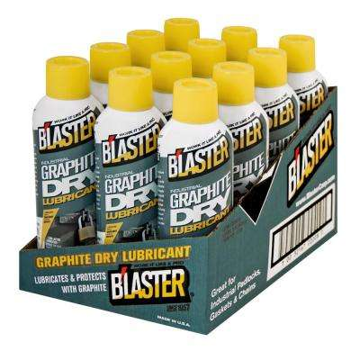 B'laster Graphite Dry Lubricant (Case of 12 Cans)
