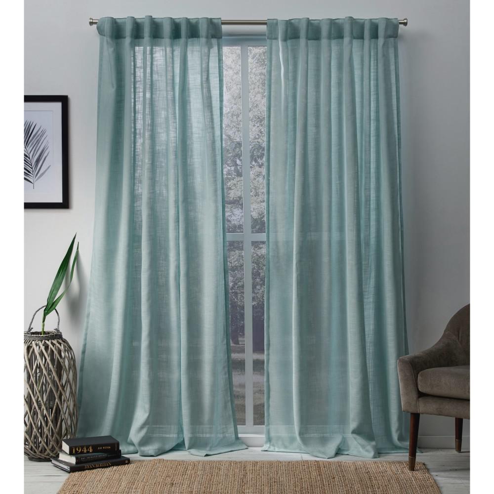 Geometric Back Tab Curtains Amp Drapes Window