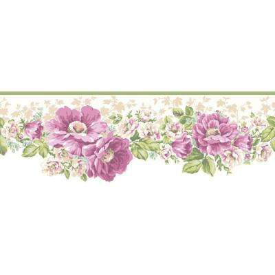 Inspired By Color Victorian Garden Wallpaper Border