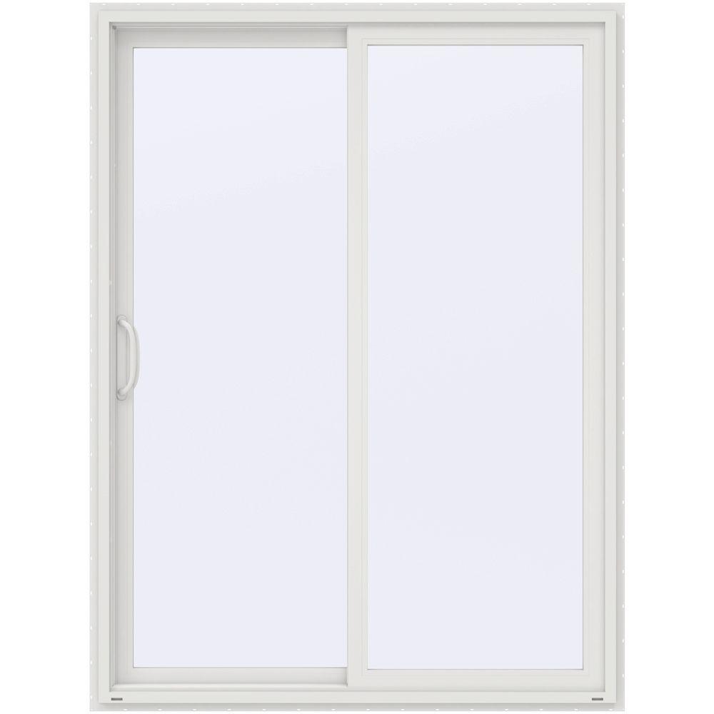 60 in. x 80 in. V-4500 White Prehung Left Hand Sliding 1  sc 1 st  The Home Depot & JELD-WEN - Doors u0026 Windows - The Home Depot pezcame.com