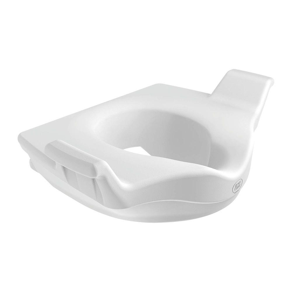MOEN Home Care Elevated Toilet Seat in Glacier