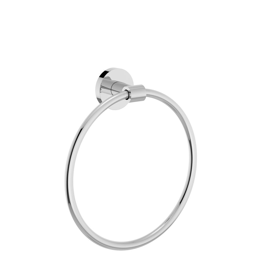 Identity Towel Ring in Chrome
