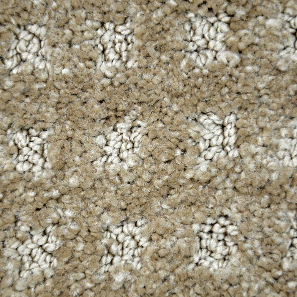 Carpet Sample - Fancy Flair - Color Jasper Pattern 8 in.