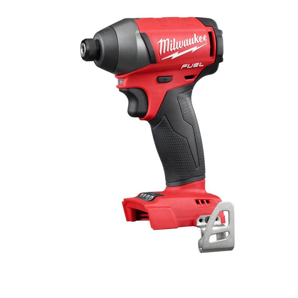 Milwaukee M18 FUEL 18-Volt Cordless Lithium-Ion Brushless 1/4 in. Hex Impact Driver (Tool-Only)