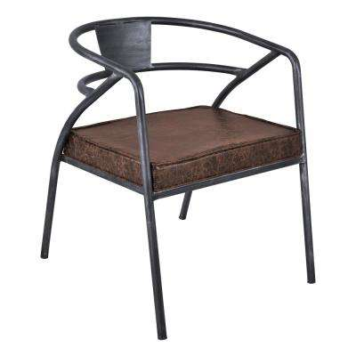 Paisley Industrial Grey Dining Chair (Set of 2)