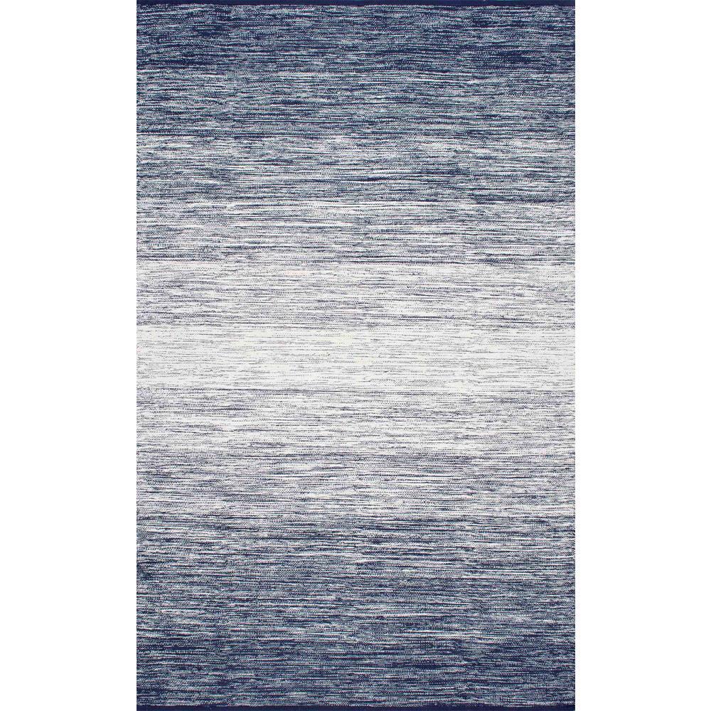 Cayla Flatweave Blue 9 ft. x 12 ft. Area Rug