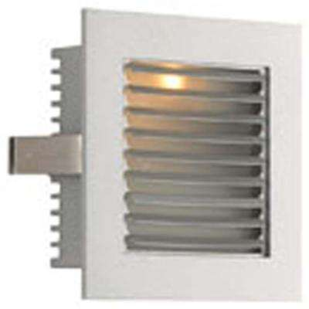 Spectra 1-Light Metallic Grey LED Step Light