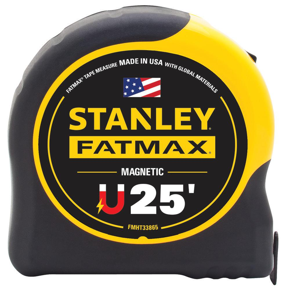 Stanley 25 ft. FATMAX Magnetic Tape Measure