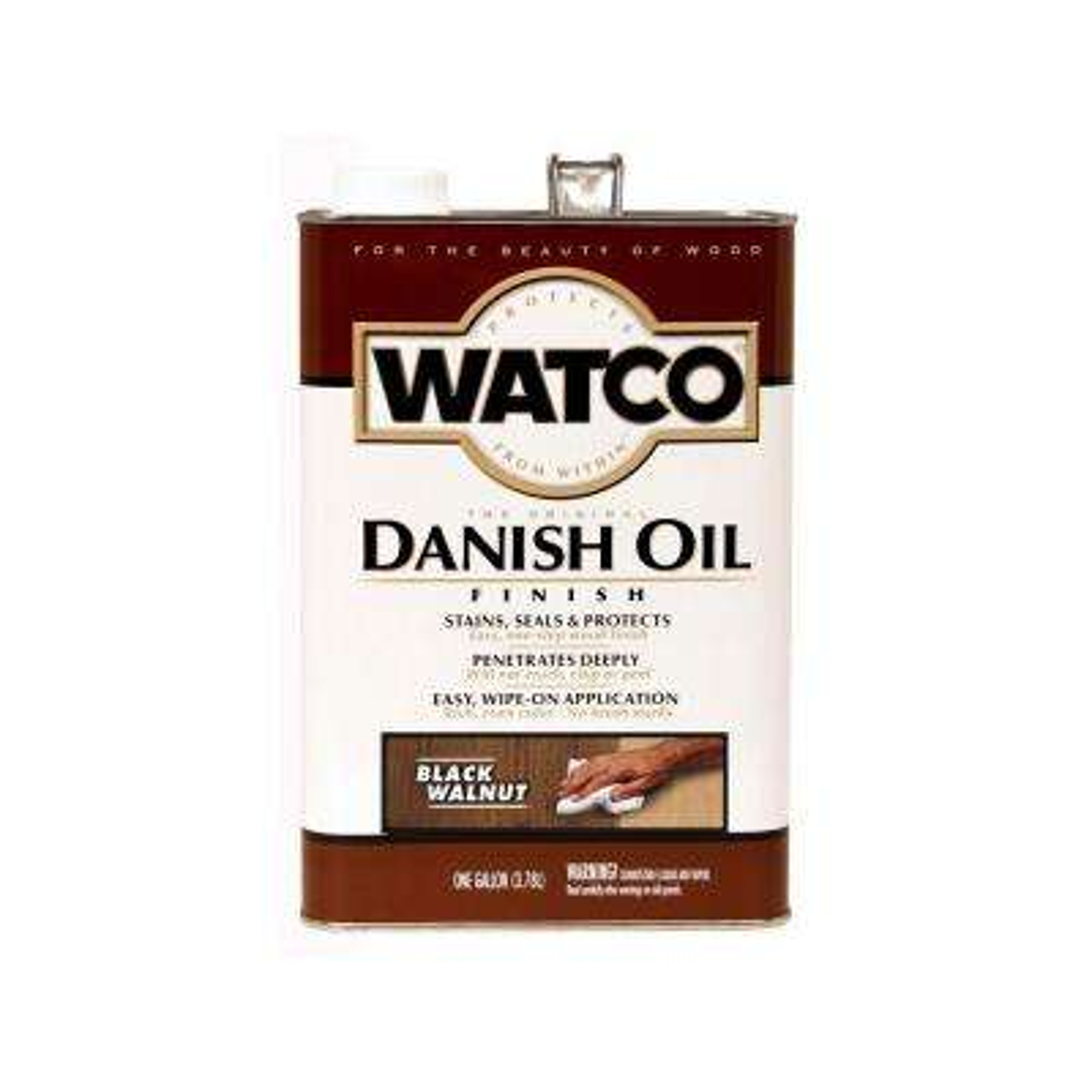 1 gal. Black Walnut Danish Oil (Case of 2)
