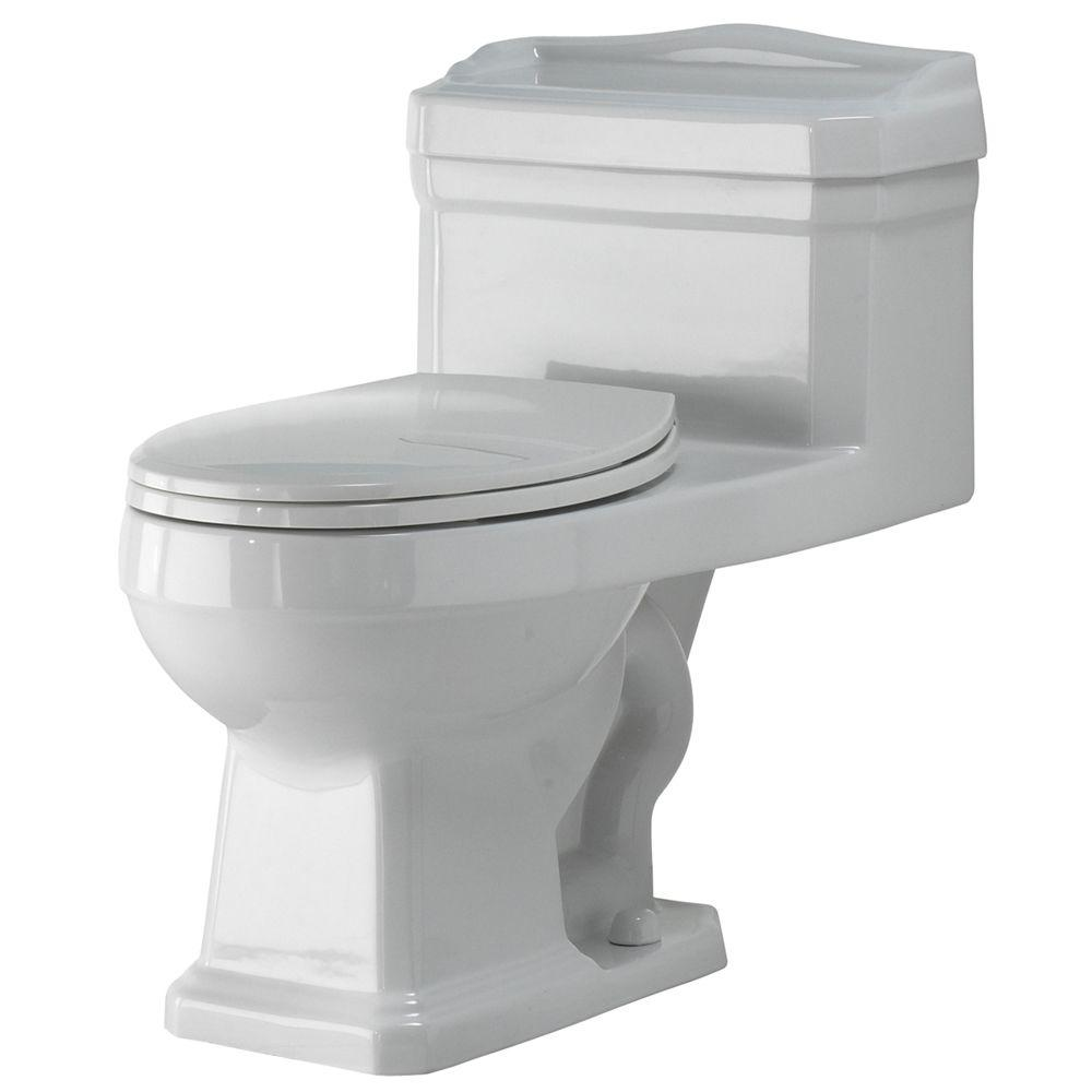 Foremost Series 1940 1-piece 1.6 GPF Elongated Toilet in White