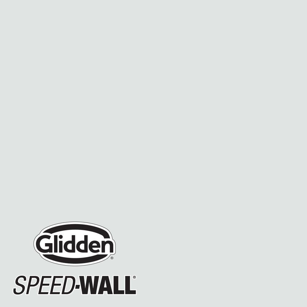 Speed-Wall 5-Gal. Gray Glimpse Flat Interior Latex Paint