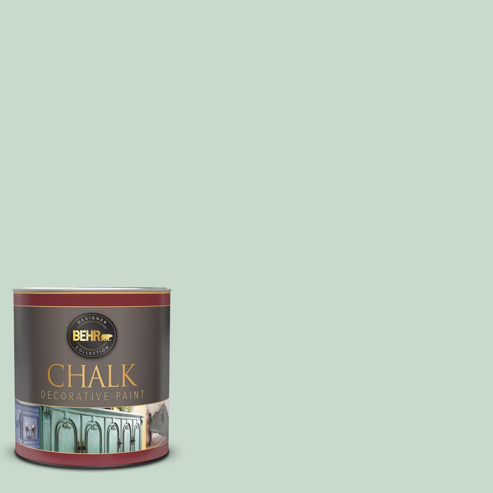 BEHR 1 qt. #BCP25 Egg Blue Interior Chalk Decorative Paint