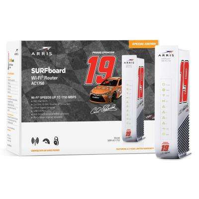 NASCAR SURFboard Wireless Dual-Band Router BR-AC1750CE