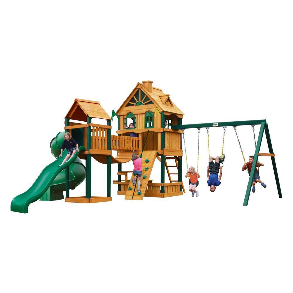 Gorilla Playsets Woodbridge Cedar Playset