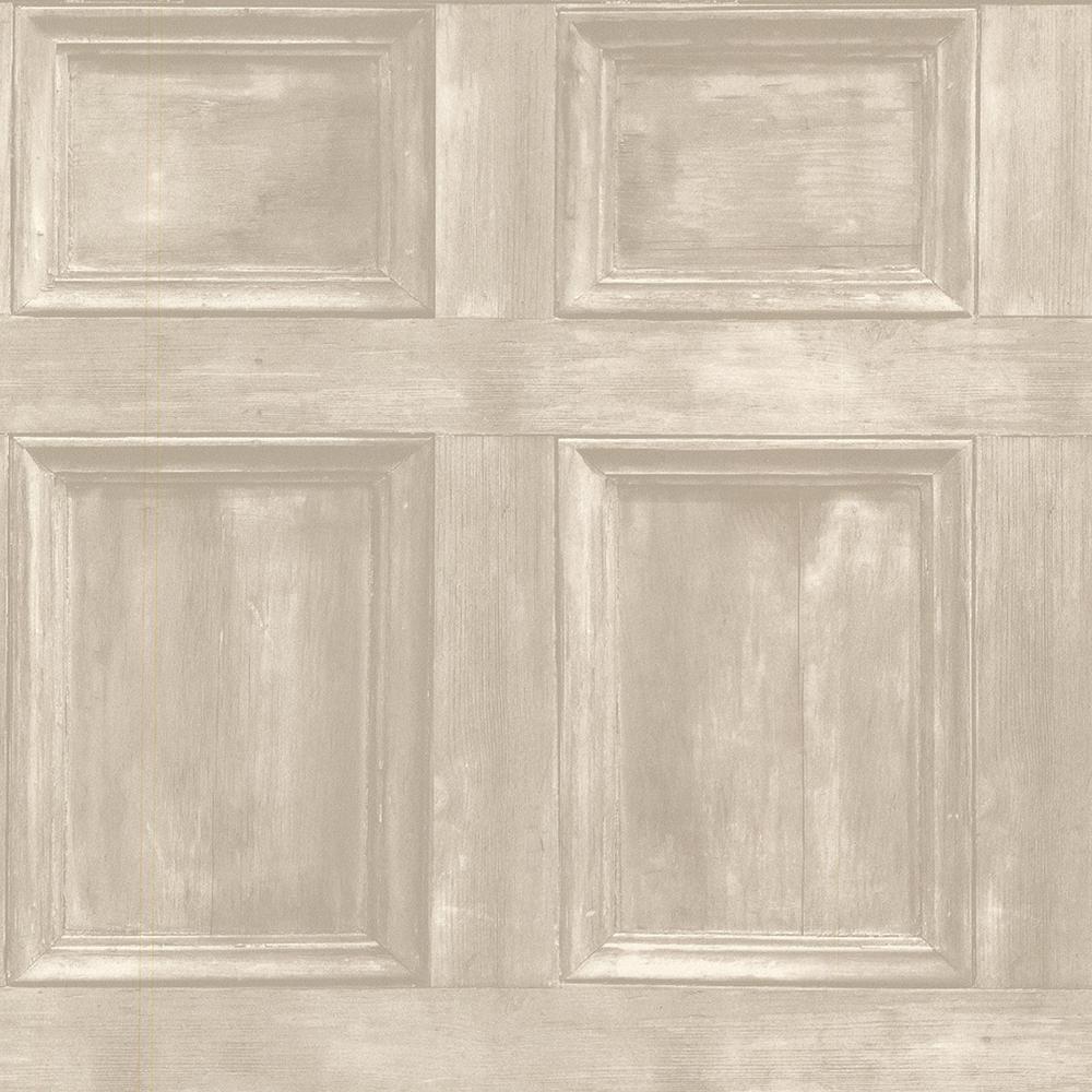 Beacon House 56.4 sq. ft. Club Room Beach Wood Panels Wallpaper ...