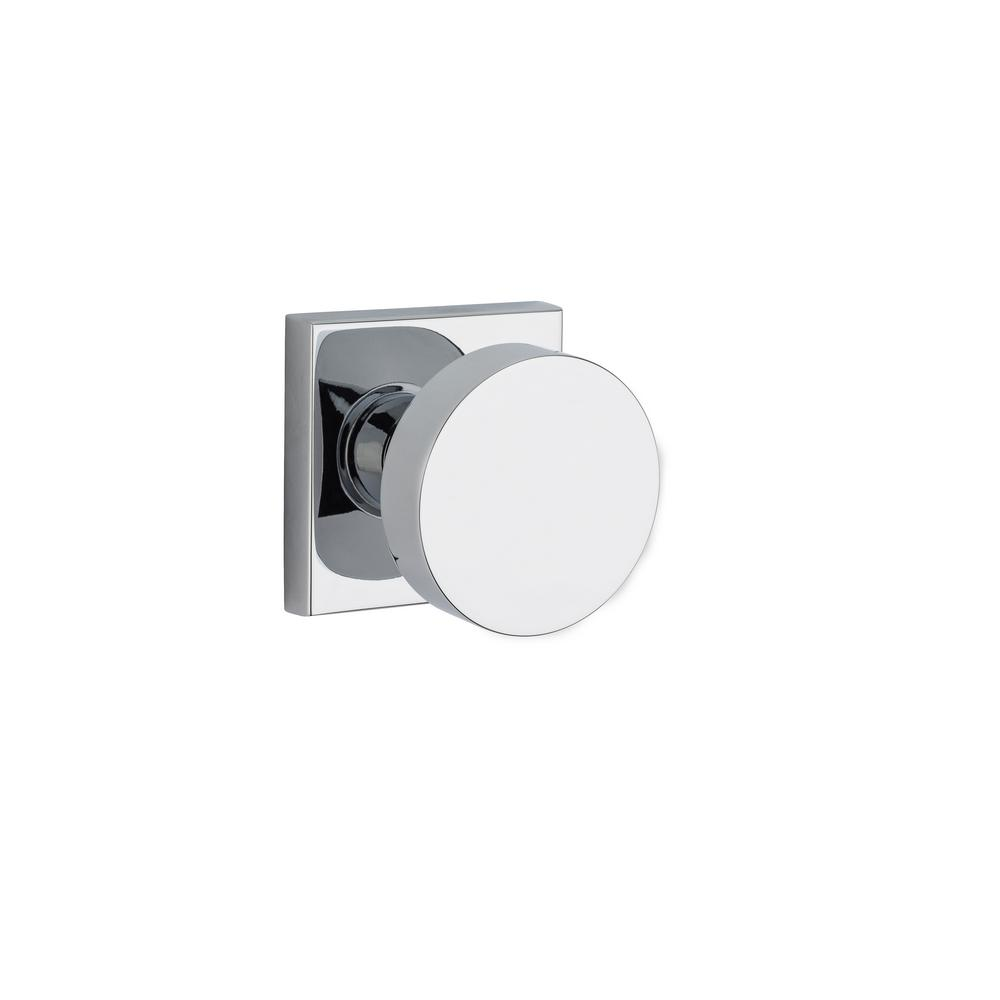 Contemporary Reserve Polished Chrome Bed/Bath Door Knob