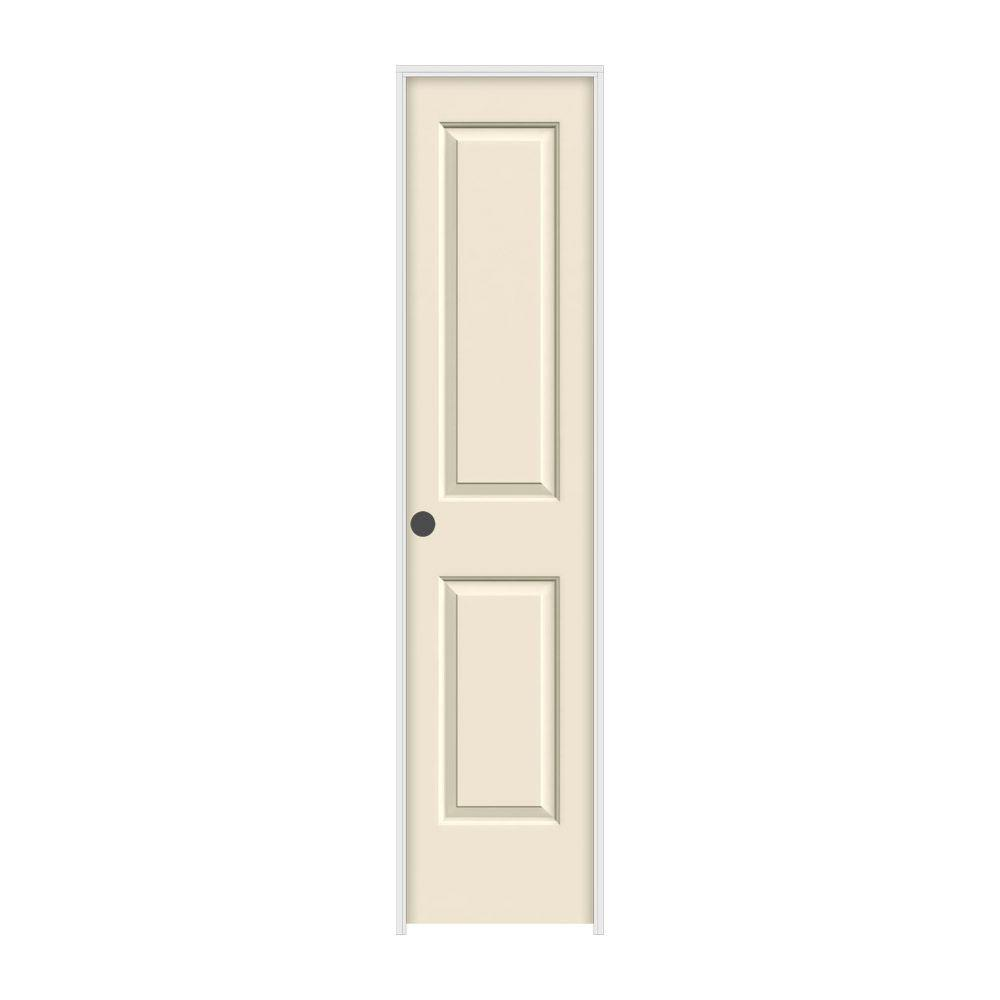 18 in. x 80 in. Cambridge Primed Right-Hand Smooth Solid Core