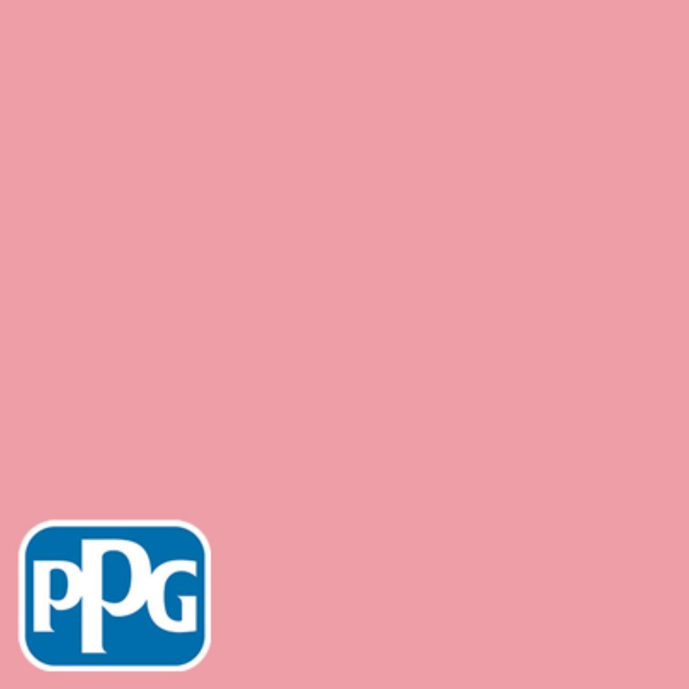 Ppg Timeless 1 Gal Hdppgr45 Pink Flamingo Satin Interior One Coat Paint With
