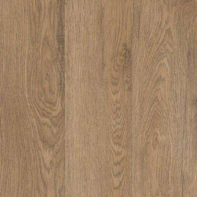Outlast+ Prairie Ridge Oak 10 mm 5 in x 7 in Laminate Flooring- Take Home Sample