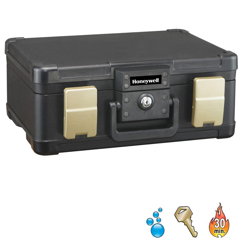 0.21 cu. ft. Molded Fire/Water Chest with Key and Double Latch