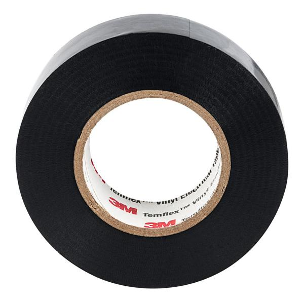 "10 Pack 3M Temflex 1700 Black 3//4/"" x 60/' General Use Vinyl Electrical Tape"