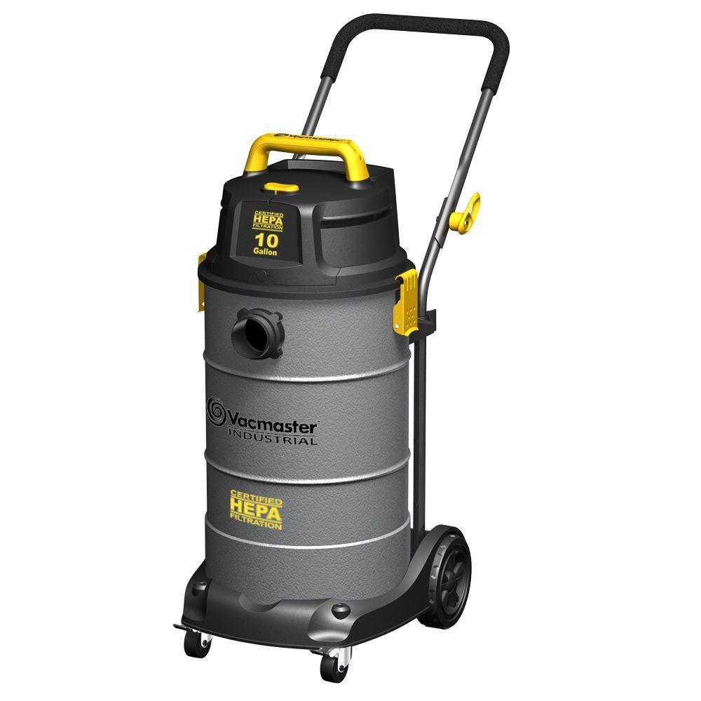 Vacmaster 10-gal. Hepa Industrial Vacuum with 2 Stage Motor