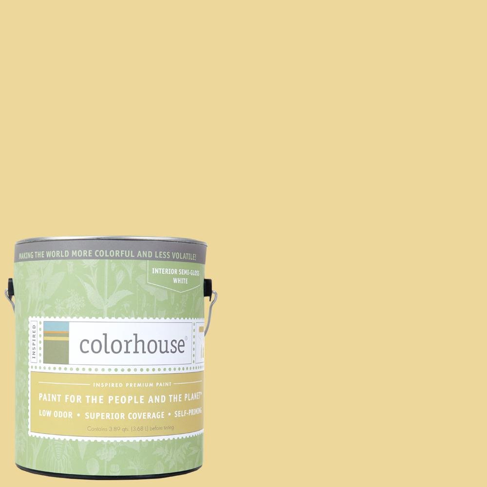 Colorhouse 1 gal. Beeswax .01 Semi-Gloss Interior Paint