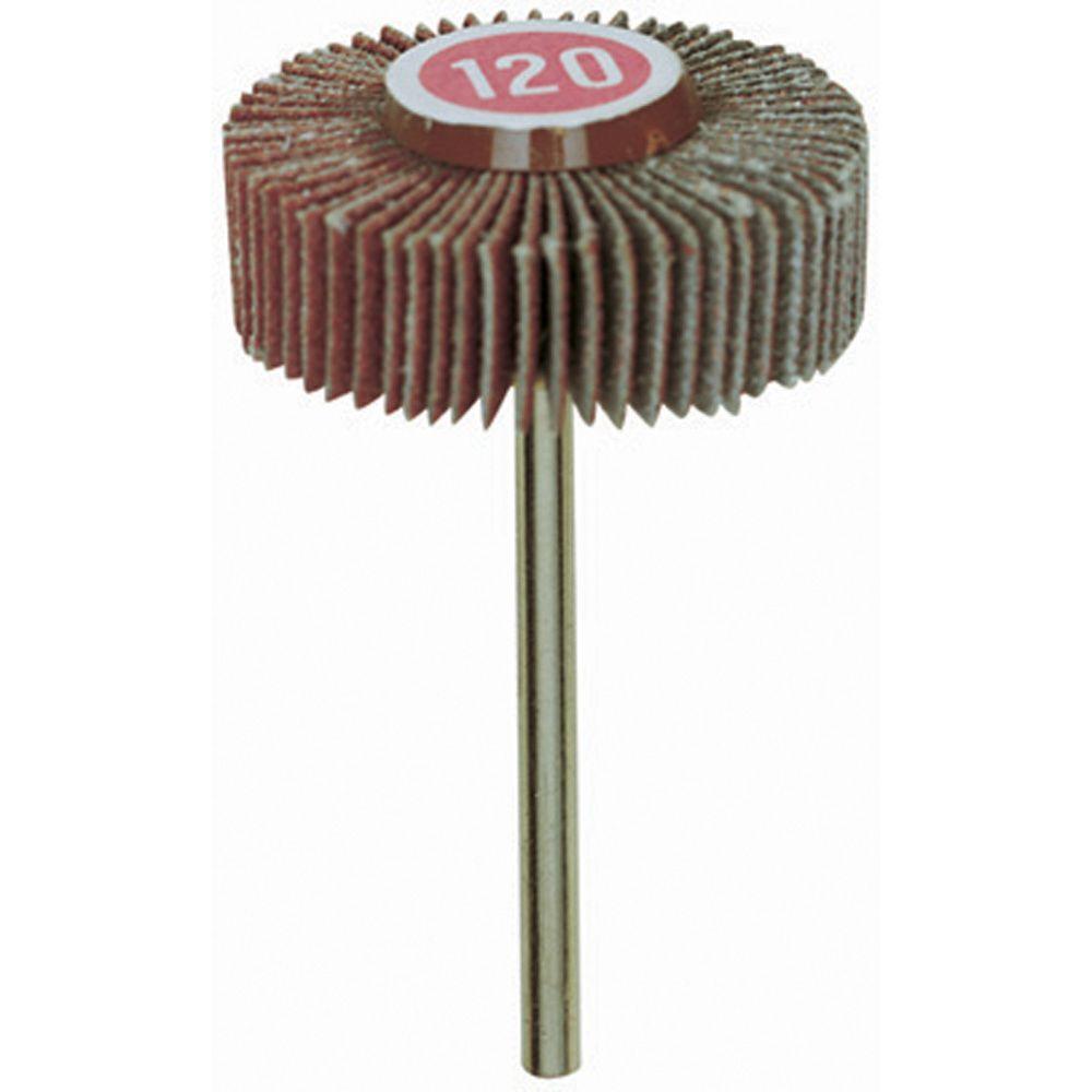 Proxxon 1-3/16 in. 120-Grit Flap Wheel