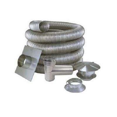 3 in. x 35 ft. All Fuel Stainless Steel Kit