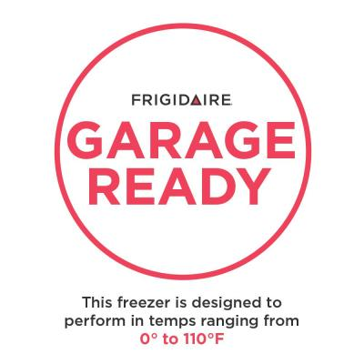 16 cu. ft. Frost Free Upright Freezer in Brushed Steel