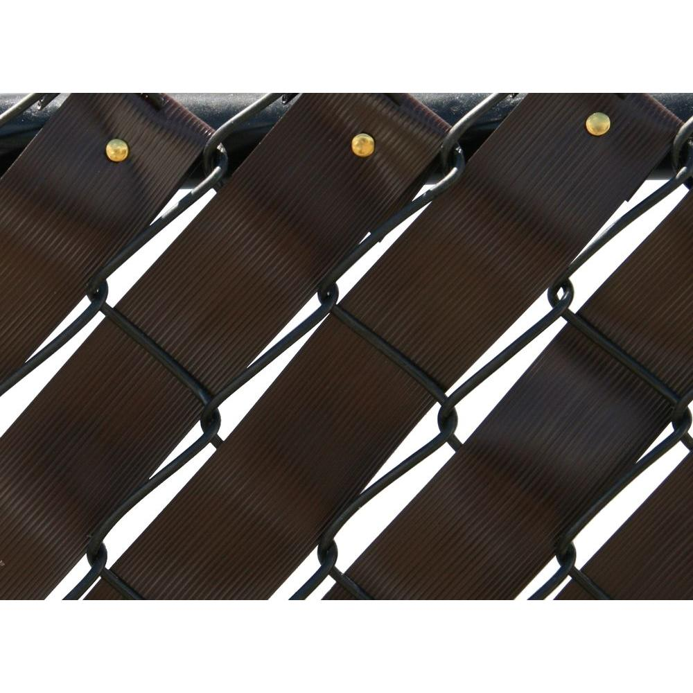 Pexco 250 Ft Fence Weave Roll In Brown Fw250 Brown The